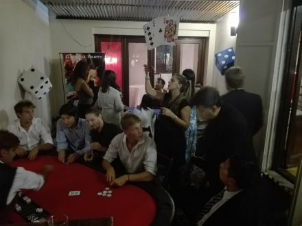 Casino Show Party